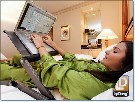 Laptop desk - I really am this lazy | House wish list | Pinterest ...