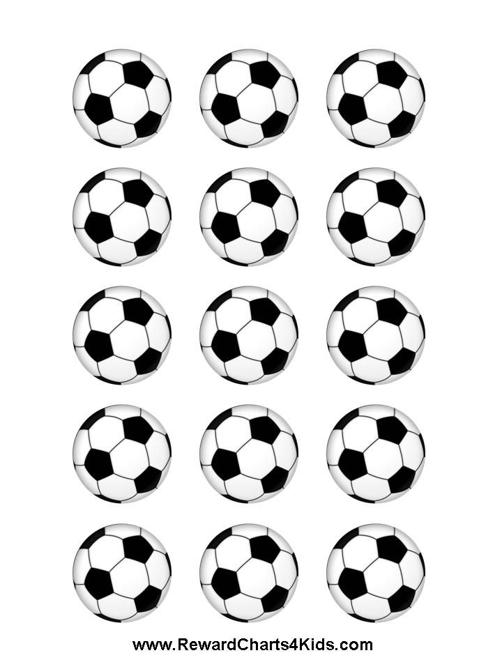 photo about Free Printable Soccer Ball called football ball stickers VIPKID within 2019 Football celebration, Football