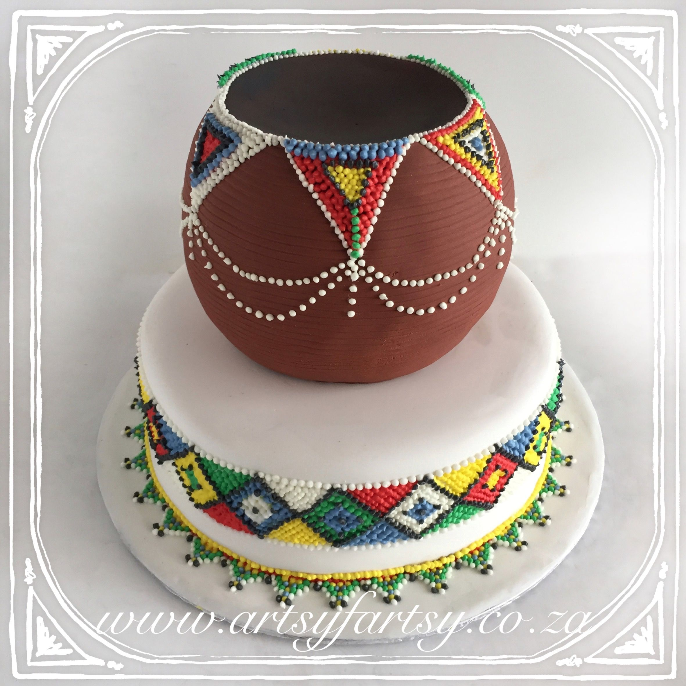 traditional wedding cakes south africa pot wedding cake africanpotweddingcake wedding 21203
