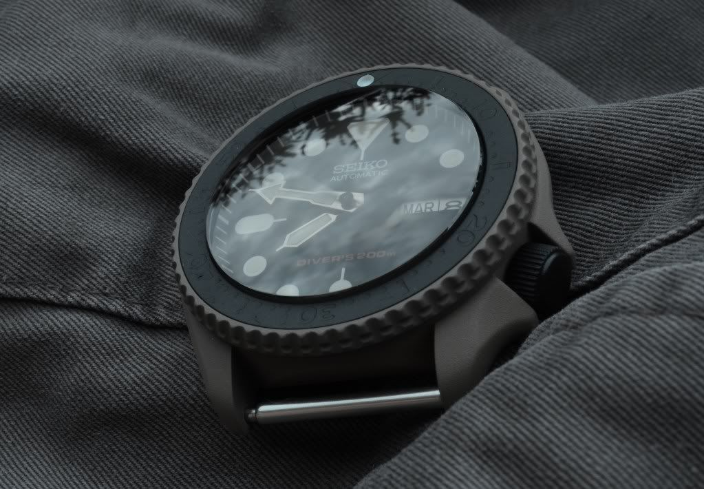 Snk007 With Bezel Case Mods Watches Affordable Seiko