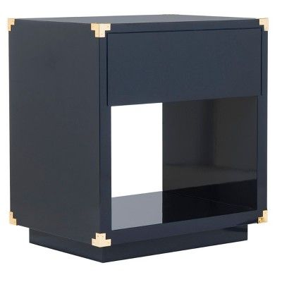 End Table Navy (Blue)   Safavieh
