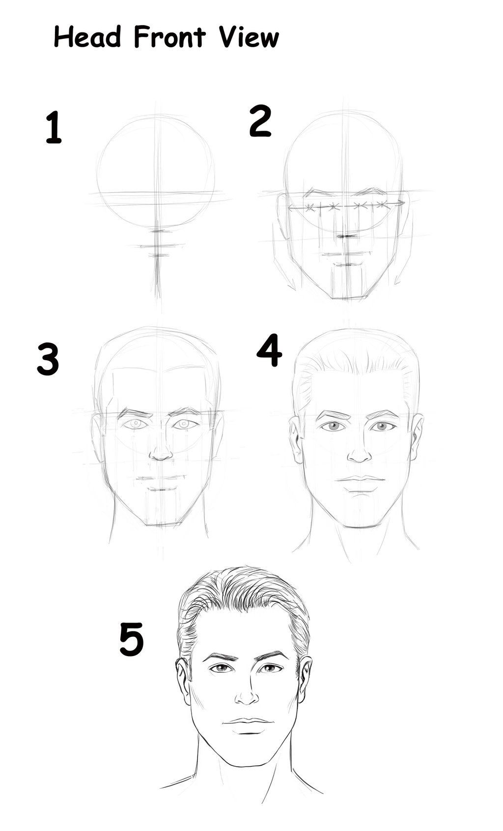 More Head Tutorials Do Not Forget To Keep Your Hand Loose While Sketching And Always Have Fun