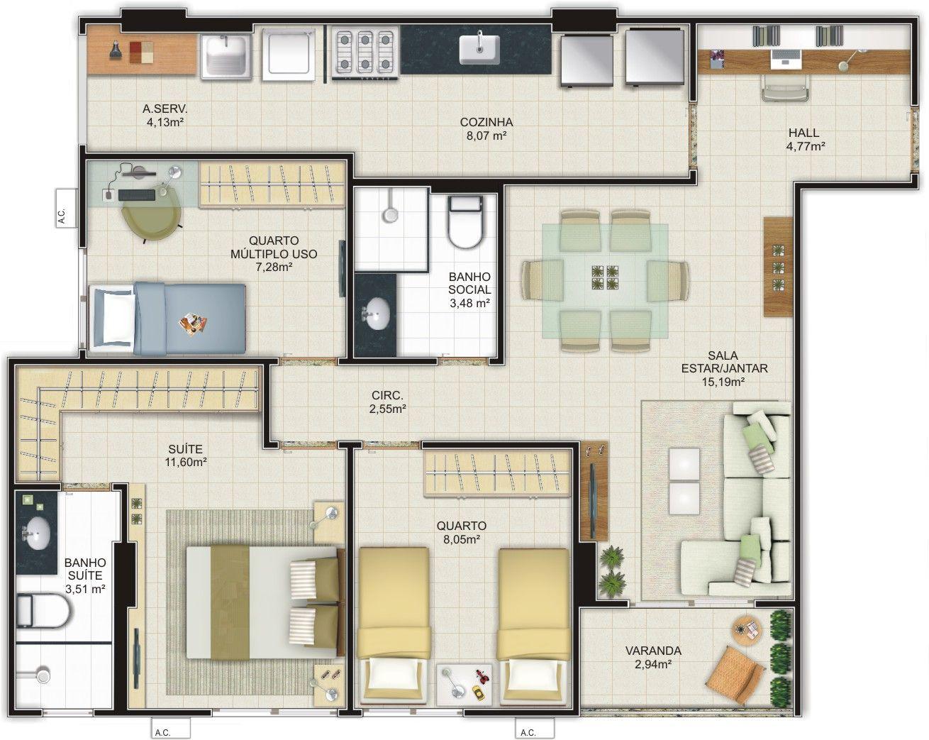 planos de casas pequenas modernas economicas