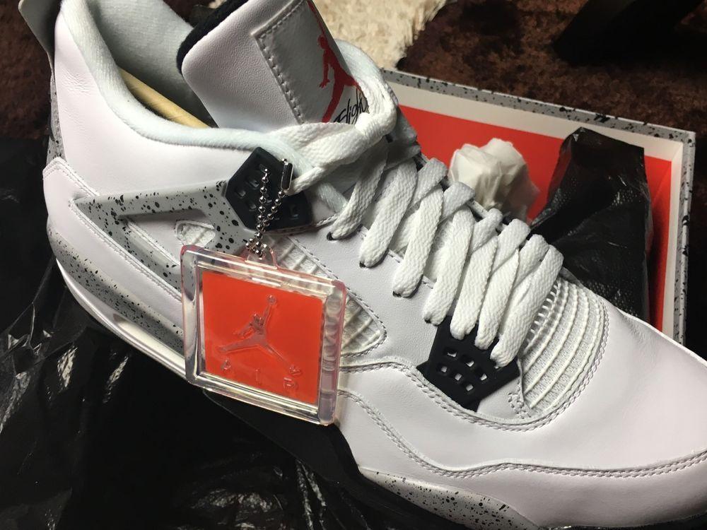 83147d915834 Nike Air Jordan 4 Cement Size 13 Fragment Yeezy Supreme