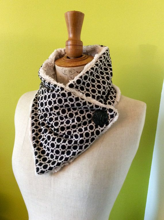 professionnel de la vente à chaud vraiment à l'aise couleur attrayante Col tour de cou cache cou par Tropjolie sur Etsy | Couture ...