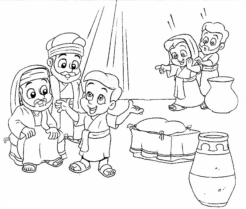 Jesus in the temple coloring pages ~ jesus in the temple coloring page - Google Search | CRCM ...