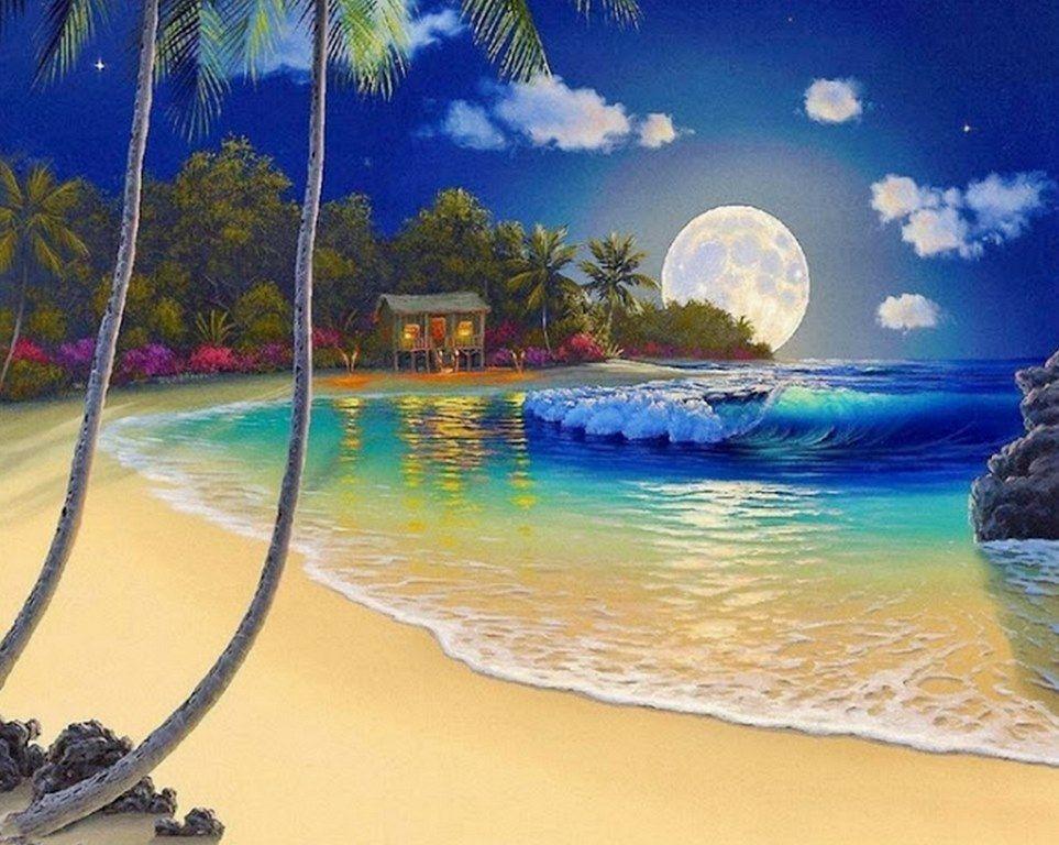 cuadros-de-paisajes-playa  ARTISTIC  Pinterest ...