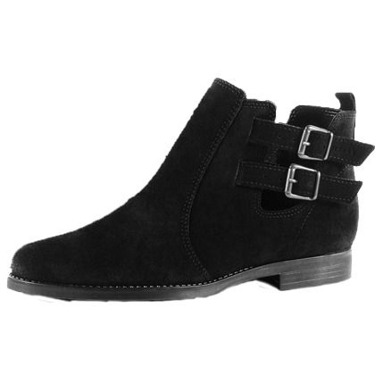 Ankle Boots 89,99€ ♥ Hier kaufen: http://www.stylefruits.de/ankle-boot-mit-ausschnitt-esprit/p5113651 #Ankle #Boots
