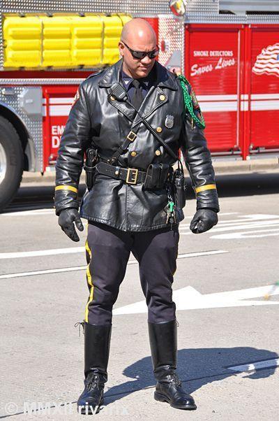 Ass in uniform