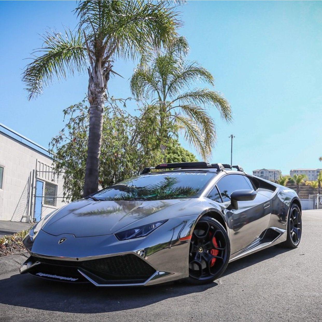 Lamborghini Huracan wrapped in Black Chrome Photo taken by ... on