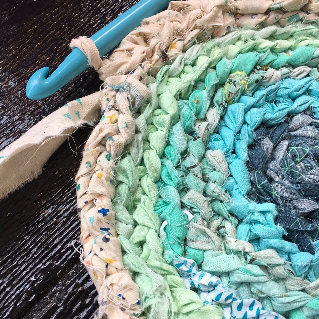 Upcycled Rag Rug In 2020 Rag Rug Crochet Rag Rug Rag Rug Tutorial