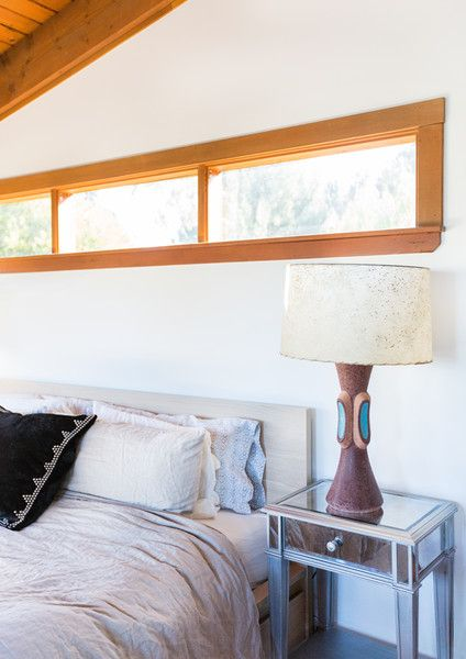 Bedside Manner - This Hollywood Hills A-Frame Home Is Magical - Photos