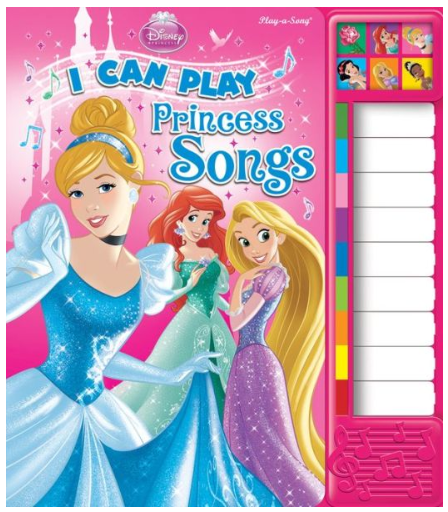 Gifts For Her Birthday Disney Princess I Can Play Songs Piano Board Book Barnes Noble
