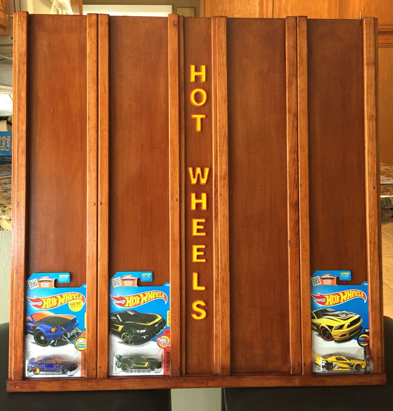 Homemade Hot Wheels Wall Display Crafts In 2018 Pinterest Hot