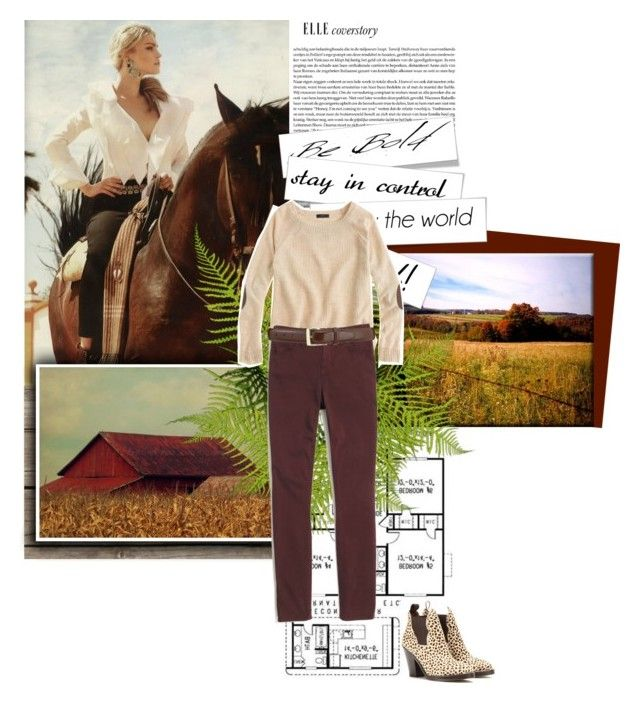 """""""ranchgirl"""" by marikena-orrego ❤ liked on Polyvore featuring Acne Studios, J.Crew and Madewell"""
