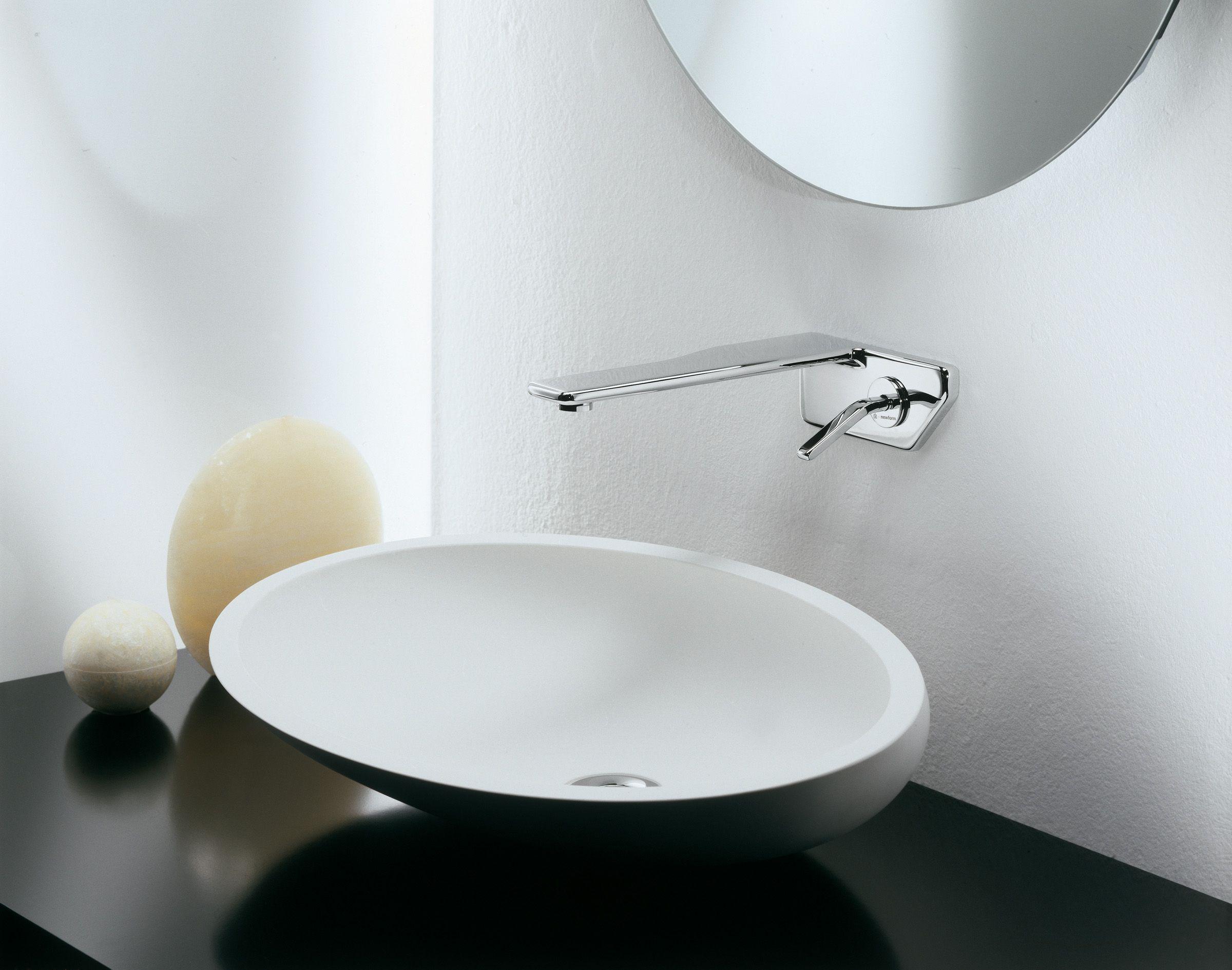 ברז מהקיר NEWFORM FLUX | Bathroom Faucets - ברזי אמבט | Pinterest