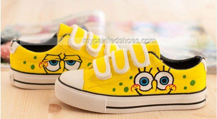 image gallery spongebob shoes