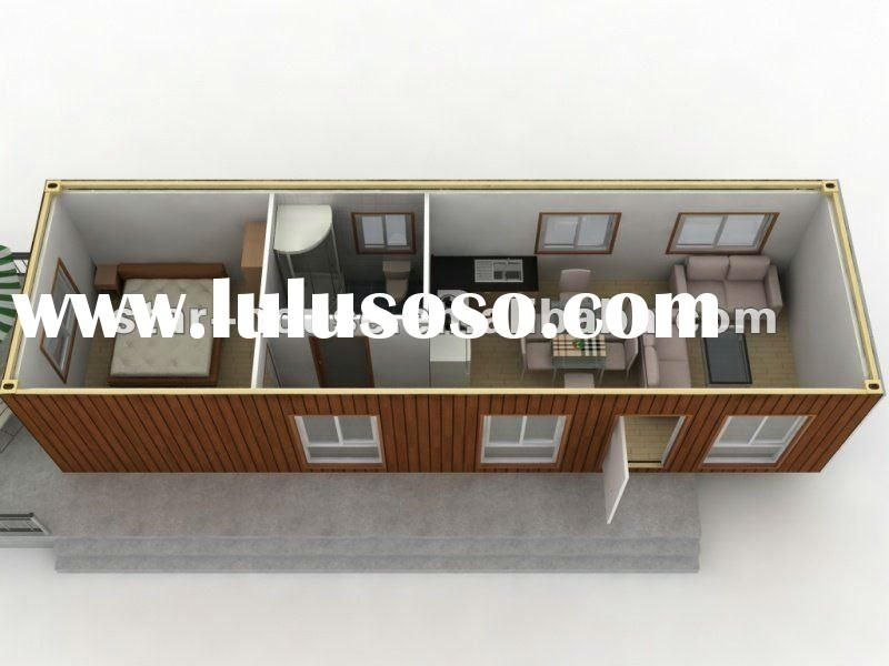 Simple container house design