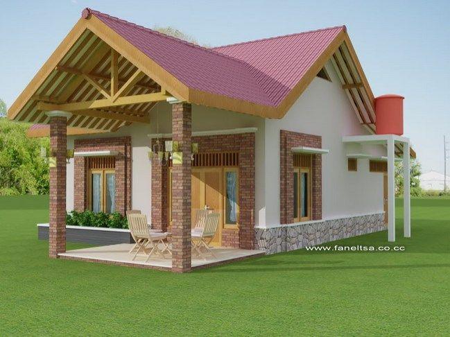 Menentukan Atap Rumah Yang Sesuai Untuk Rumah Kecil Rumah Desain Rumah Denah Rumah Kecil