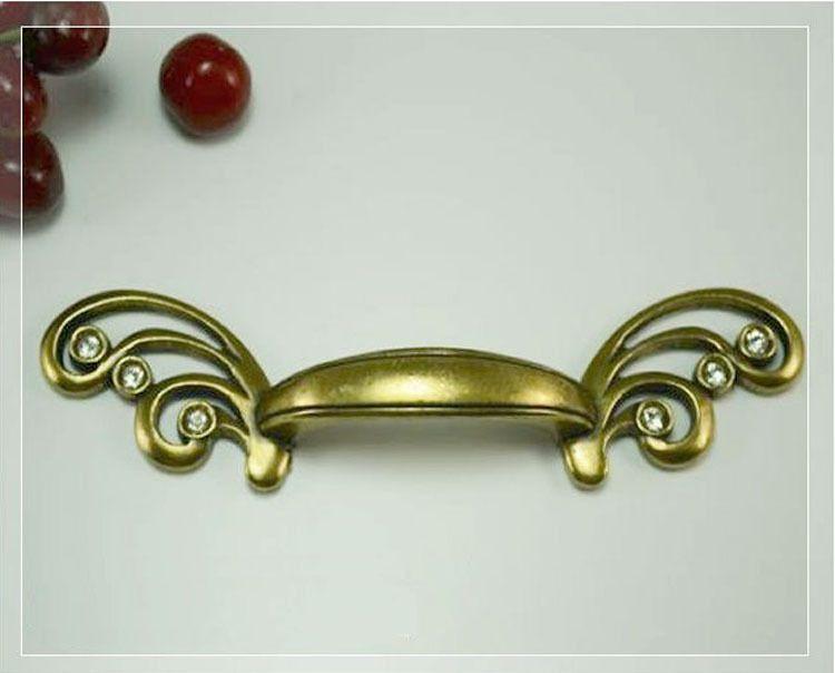 unlocks 64mm kitchen cabinet handles drawer pull hardware antique