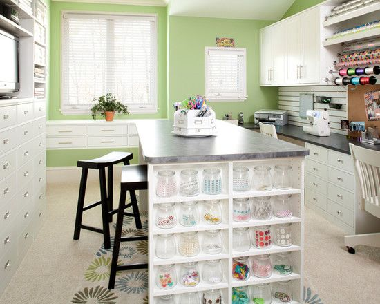 Marvelous My Dream Craft Space! Traditional Home Office Organization Design, Pictures,  Remodel, Decor And Ideas   Page 4