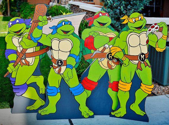 Ninja Turtle Photo Cut Out