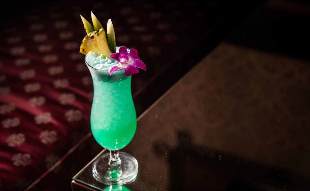 Garret Richard's Blue Hawaii Recipe Blue hawaii