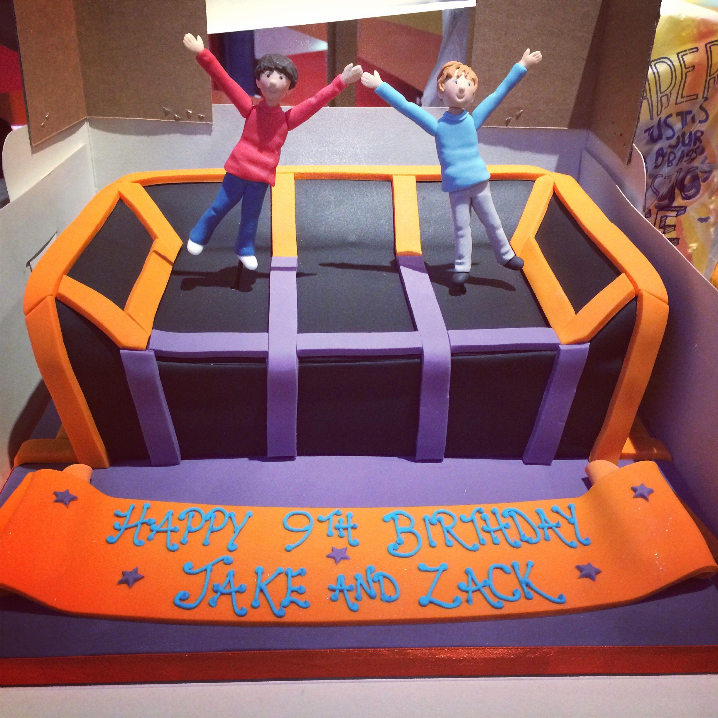 Party cake of 2015! #party #cakeideas #bounce #bouncingmen