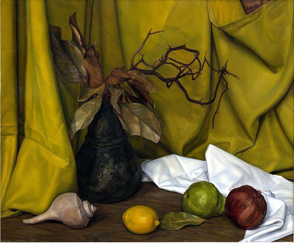 Luigi Lucioni Still Life Art Still Life Painting Art