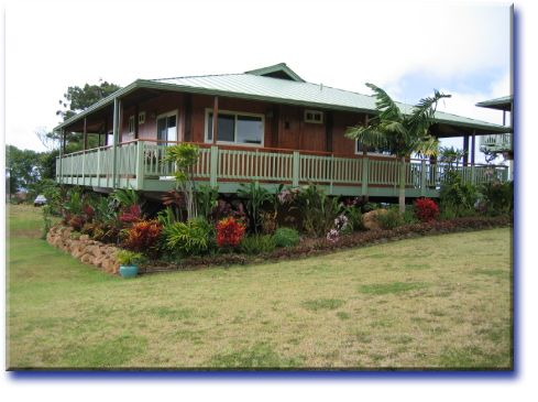 Hawaiian House Designs | Home Plan Name: The Hookipa 2 Level Cottage