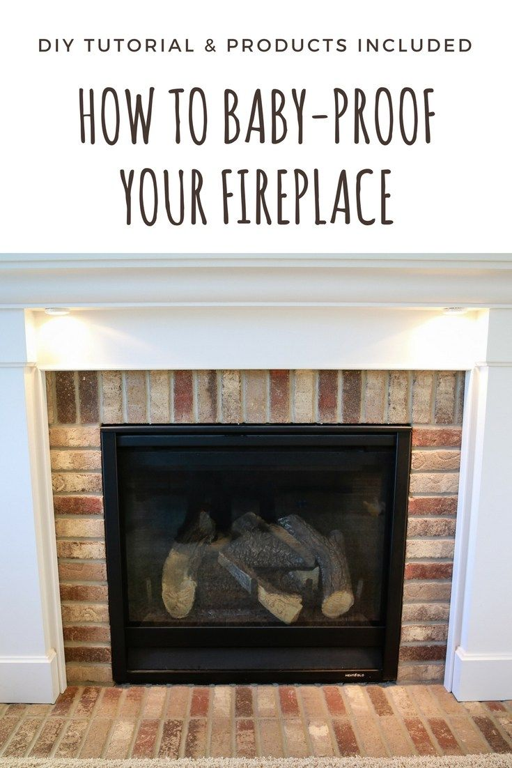 How to Baby Proof a Fireplace DIY Hearth Cushion Baby