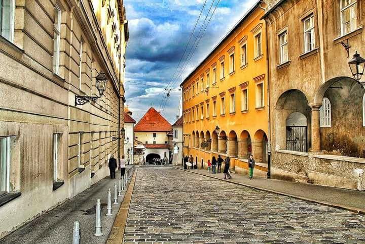 Kamenita Vrata Zagreb Croatia Zagreb Croatia