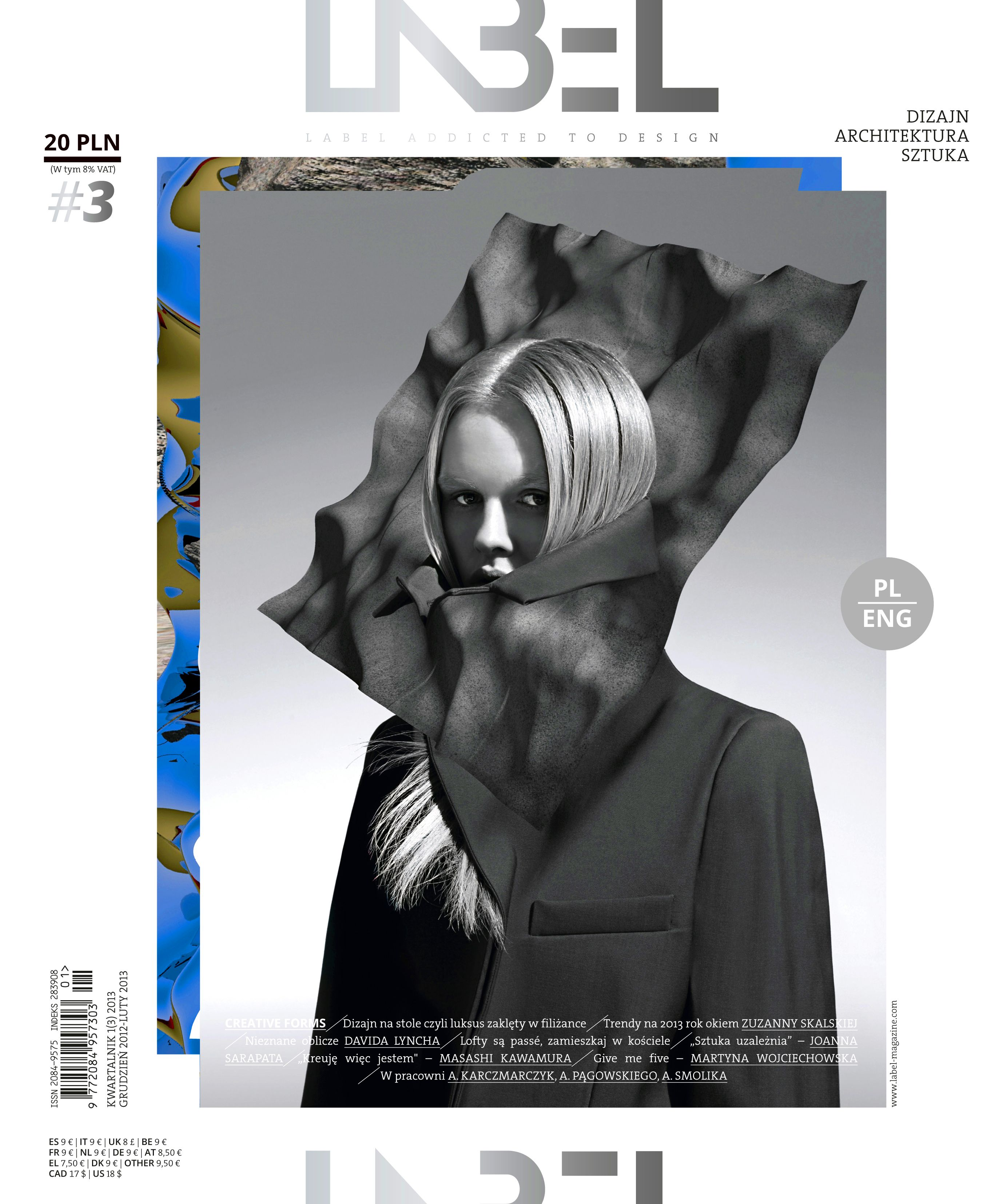 Label. Addicted to design, December 2012/March 2013, #3 on Magpile
