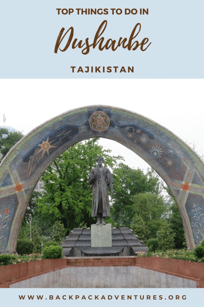 20 Top Things To Do In Dushanbe Tajikistan
