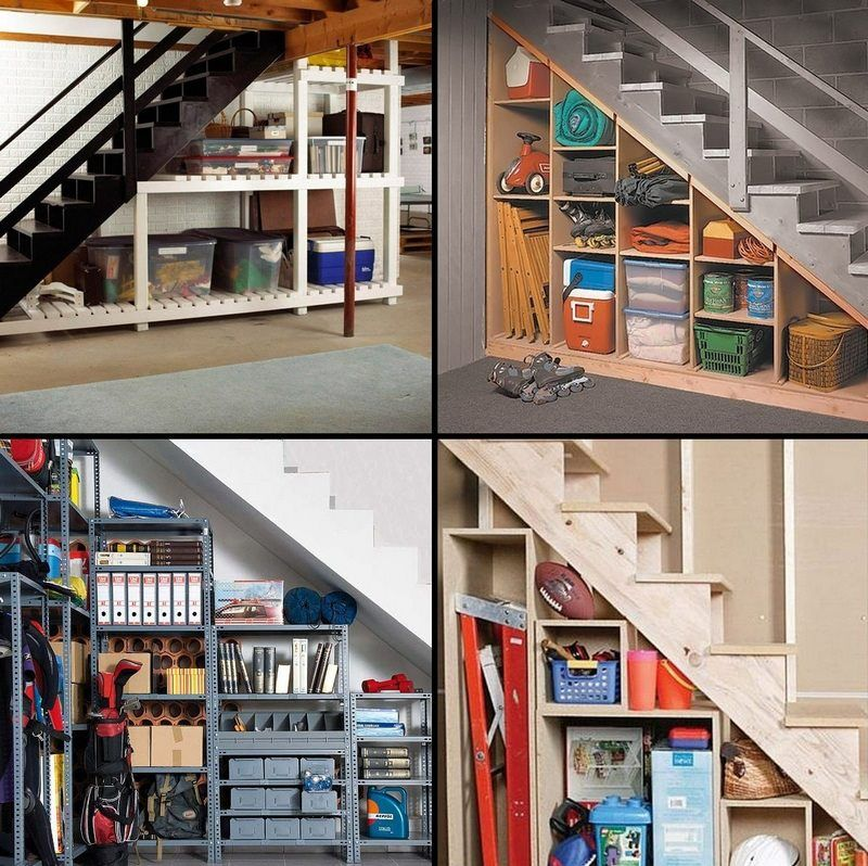 Surprising Staircase Ideas In Small Spaces Engaging: Staircases Can Offer Surprising Opportunities For Storage
