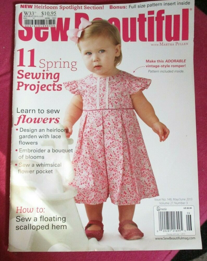 Sew Beautiful No 148 11 Spring Projects Martha Pullen Magazine 2013 Sewbeautiful Sewing Spring Sewing Sewing Magazines