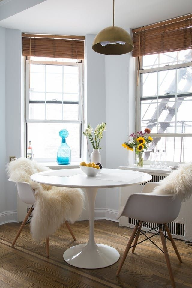 4 Style Lessons to Borrow from a 450SquareFoot NYC Home is part of Living Room Chairs Apartment Therapy - apartmenttherapy com site