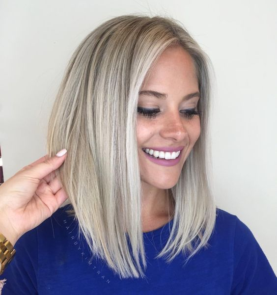 Beste Frisuren für Frauen 2018 Mittel Kurz Langes Haar