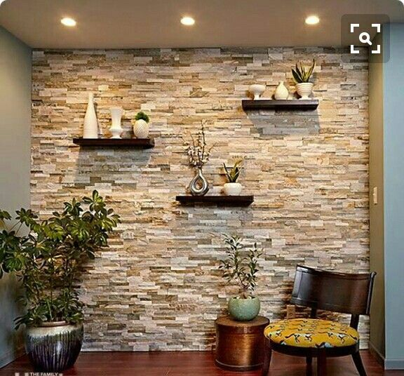 Pin by renee d on wall treatment ideas pinterest walls you can transform any room with a stunning stone accent wall like this modern materials and methods allow you to create the look of a traditional stone w sciox Choice Image