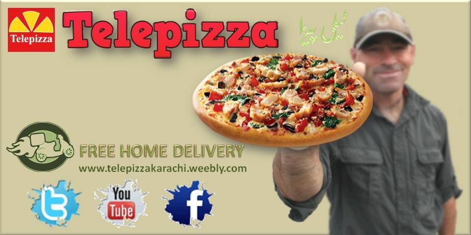 Pizza Delivery In Karachi My Pins Pizza Delivery Pizza Food