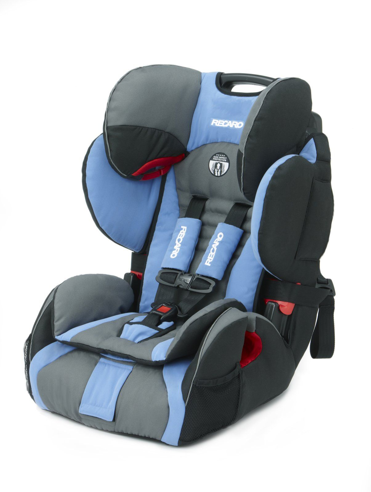 Recaro ProSPORT Harness to Booster Car Seat Blue Opal