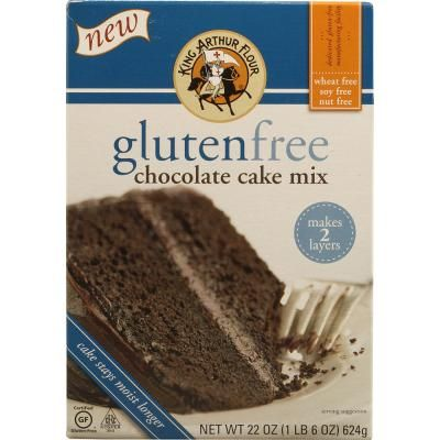 King Arthur Flour Gluten Free Chocolate Cake Mix -- 22 oz ...