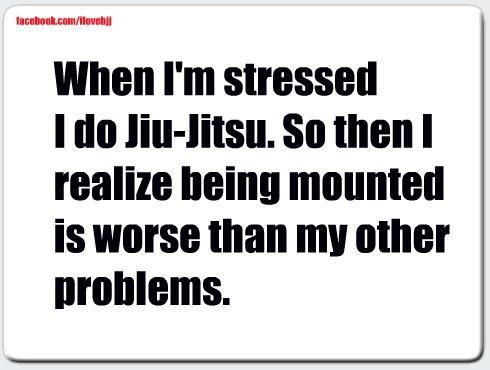 Jiu Jitsu for stress