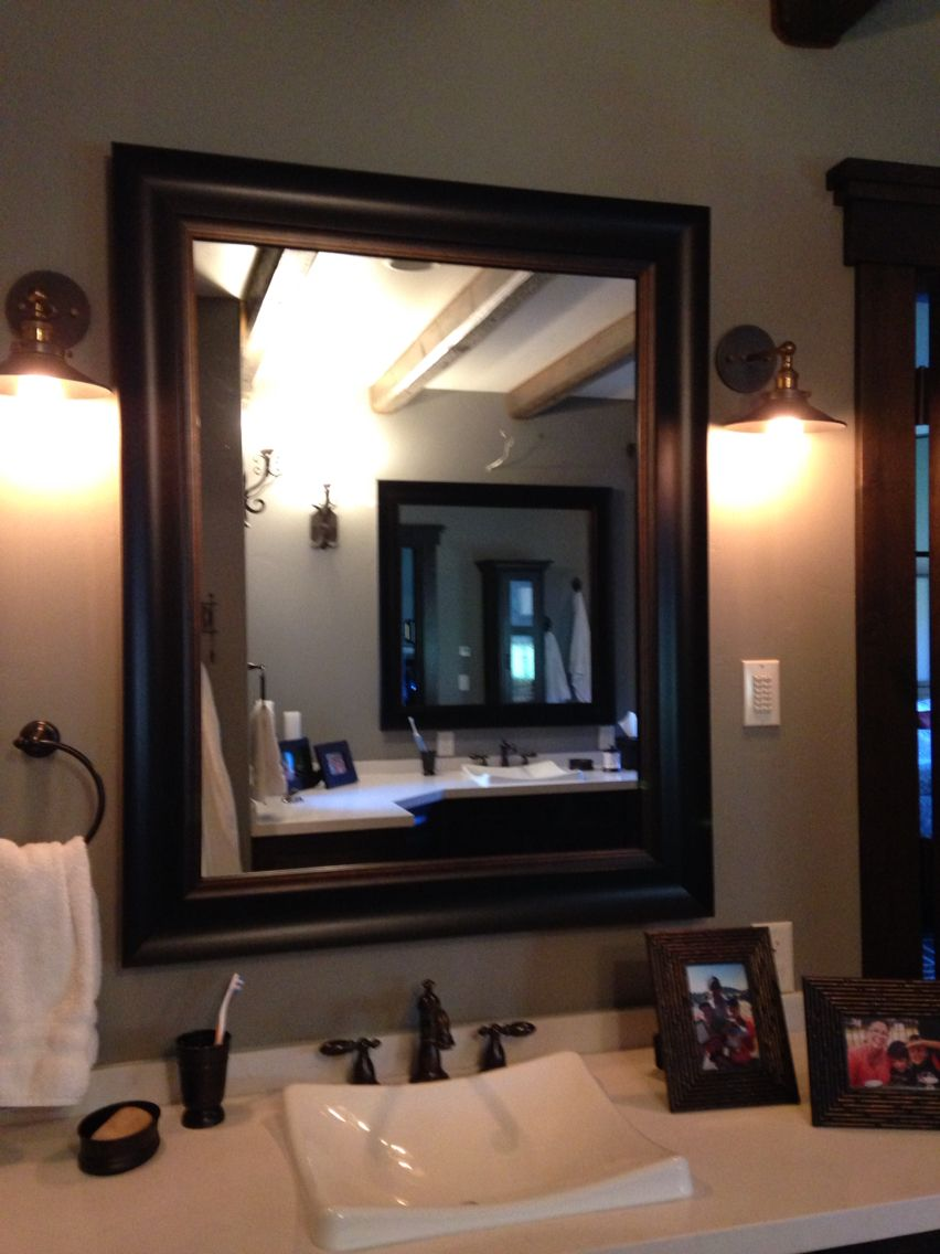 Bathroom Mirror Frames Any Size Mirror Frame Kit Nationwide