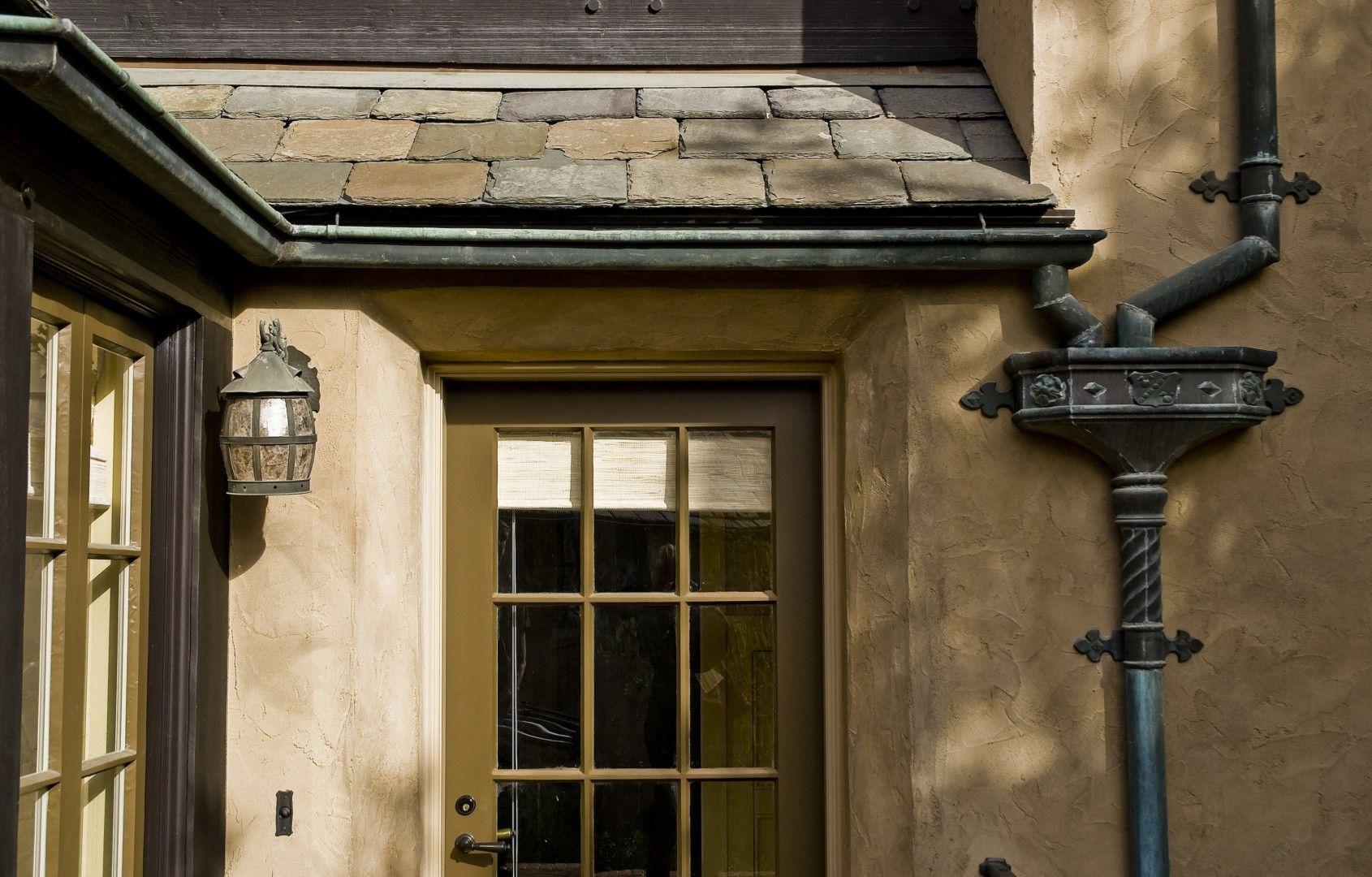 Tudor Estate John Malick Associates Gutters Copper Gutters Shingle Style