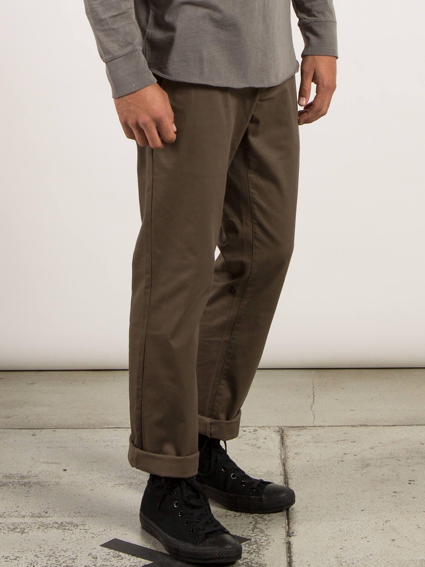 Frickin modern stretch pants black stretch chinos