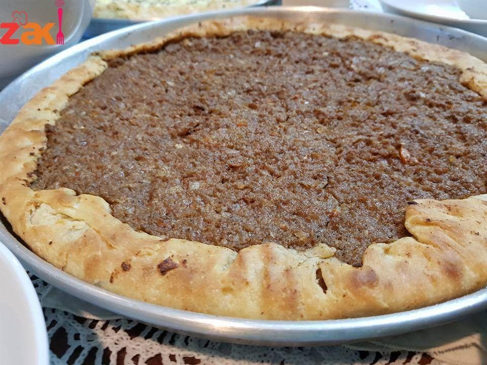 طريقة عمل عيش أبو اللحم الفطيرة السعودية الشهيرة زاكي Best Dishes Sweet Pastries Desserts