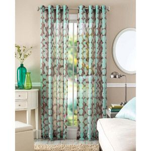 Home Leaf Curtains Better Homes And Garden Sheer Window Panels