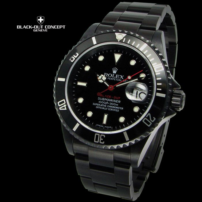 Submariner Rolex Black