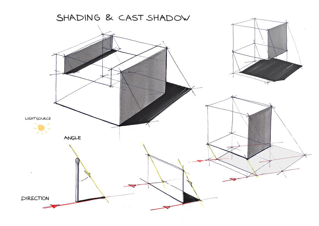 Architecture Drawing Basics 29 best shadows in perspective images on pinterest | perspective